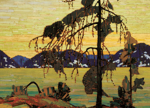 The Jack Pine Contemporary & Modern Art Jigsaw Puzzle