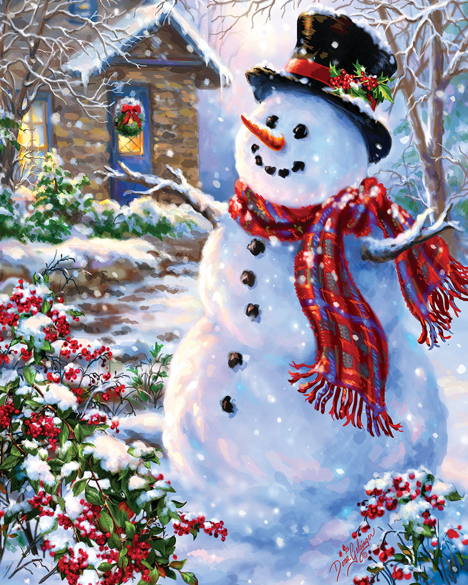 Let It Snow Jigsaw Puzzle Puzzlewarehouse Com