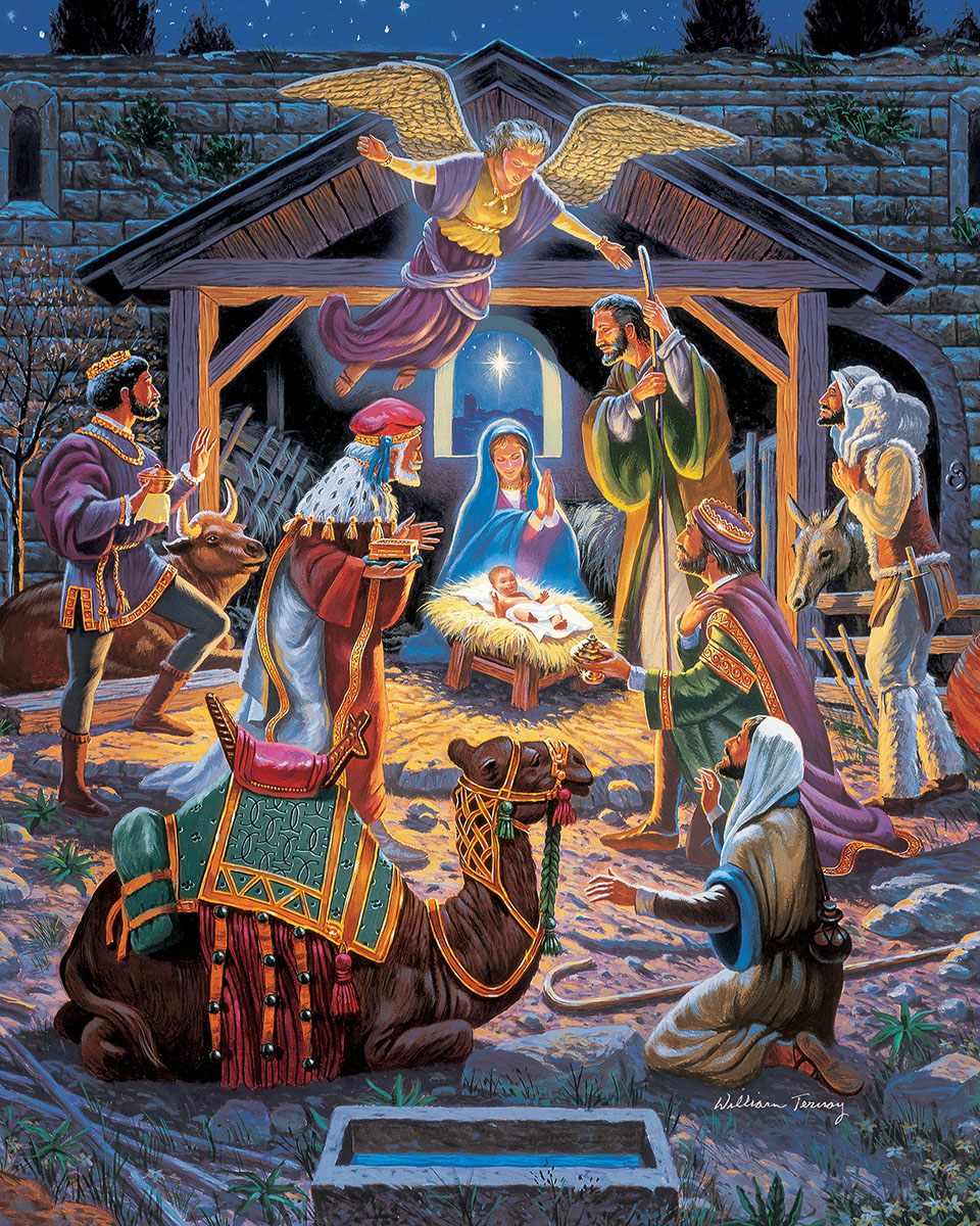 Holy Night Jigsaw Puzzle | PuzzleWarehouse.com