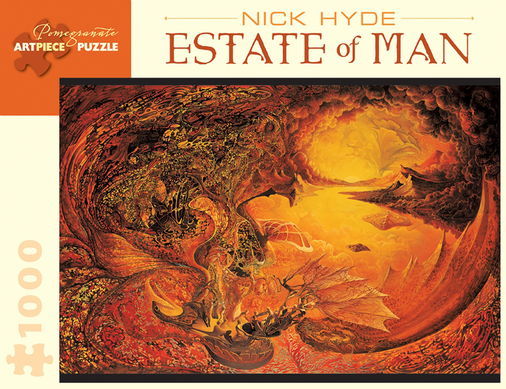 Estate Of Man Dragons Jigsaw Puzzle