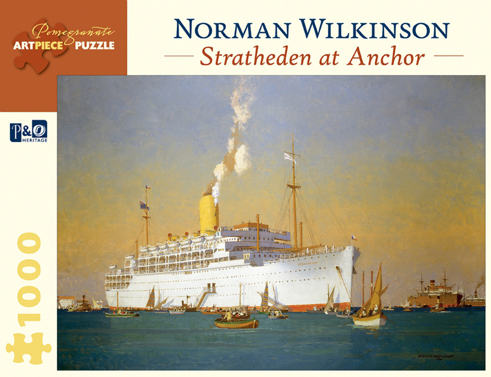 Stratheden At Anchor Boats Jigsaw Puzzle