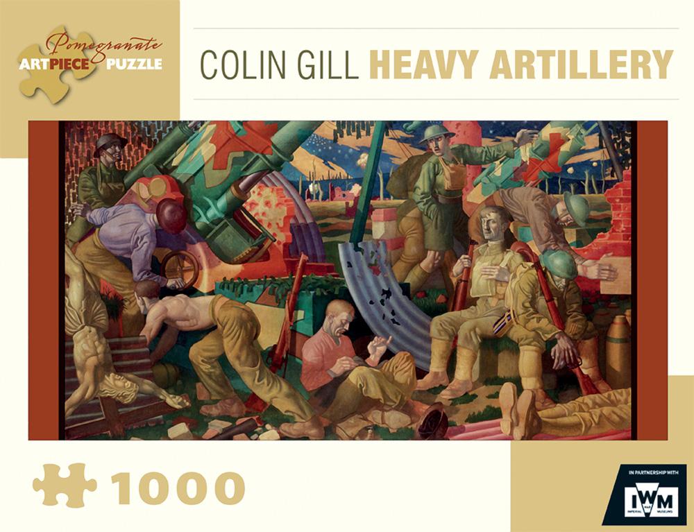 Gill/Heavy Artillery Fine Art Jigsaw Puzzle