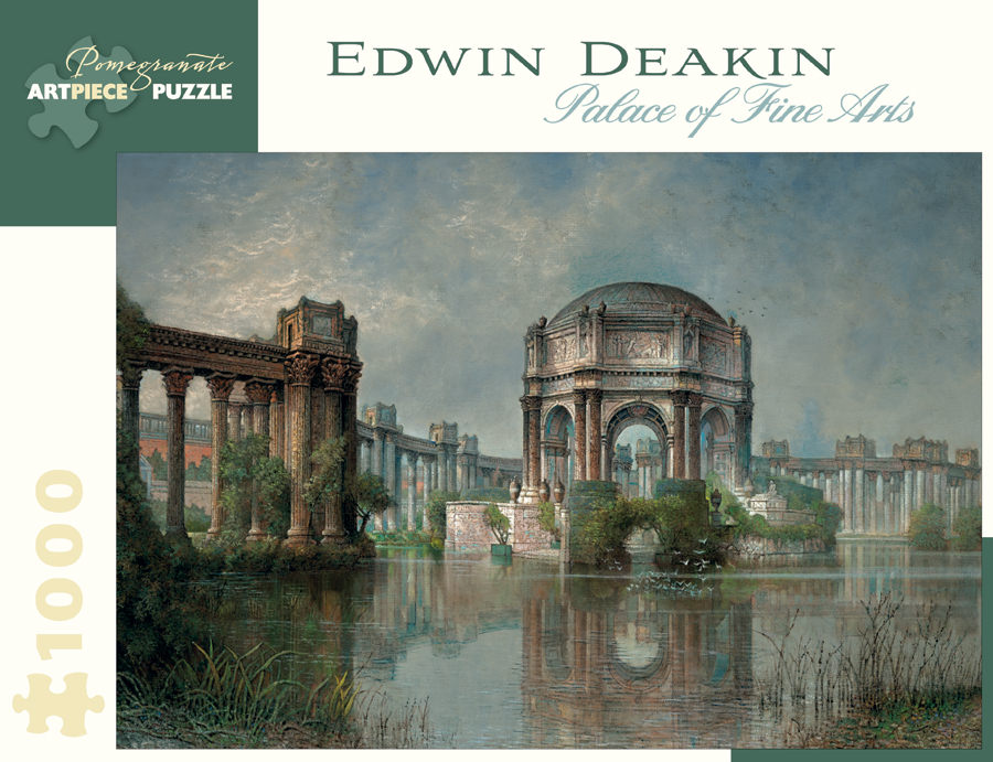Palace of Fine Arts and the Lagoon Fine Art Jigsaw Puzzle