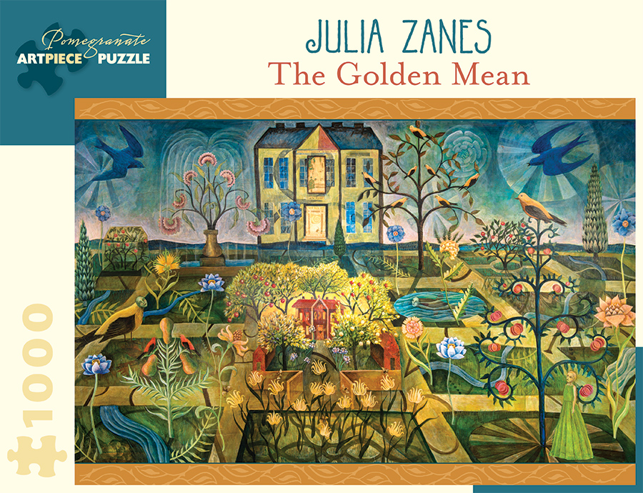 The Golden Mean Birds Jigsaw Puzzle
