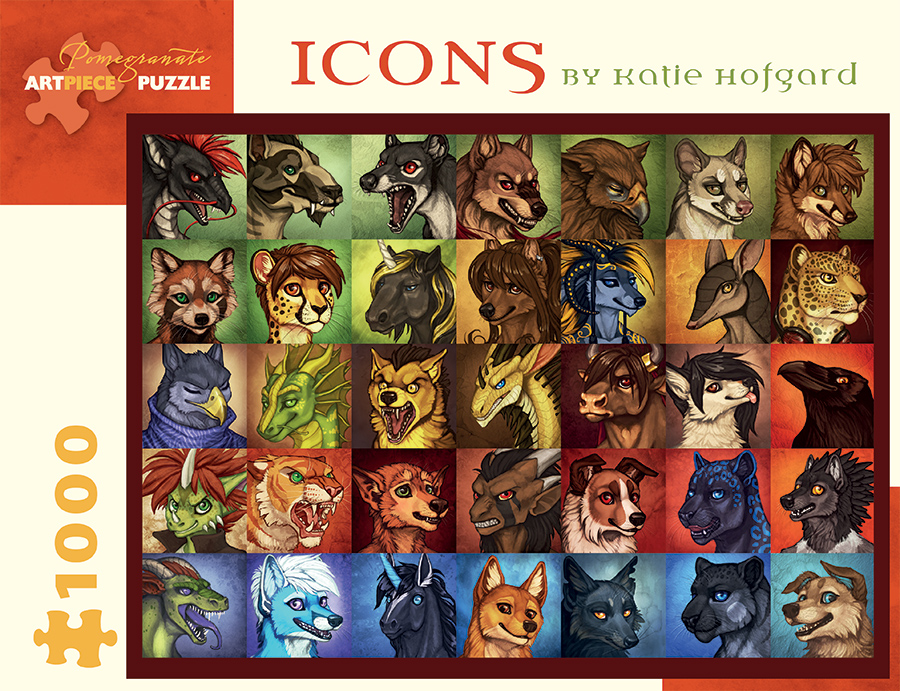 Icons Animals Jigsaw Puzzle