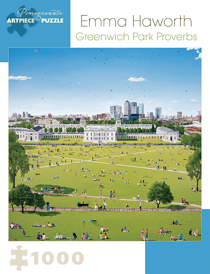Greenwich Park Proverbs Landmarks / Monuments Jigsaw Puzzle