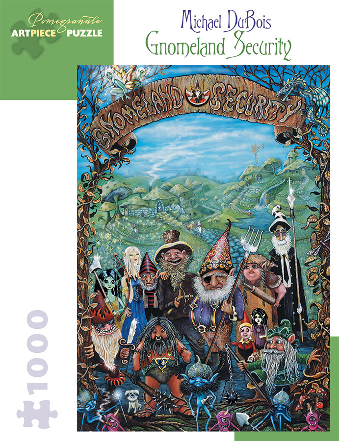 Gnomeland Security Fantasy Jigsaw Puzzle