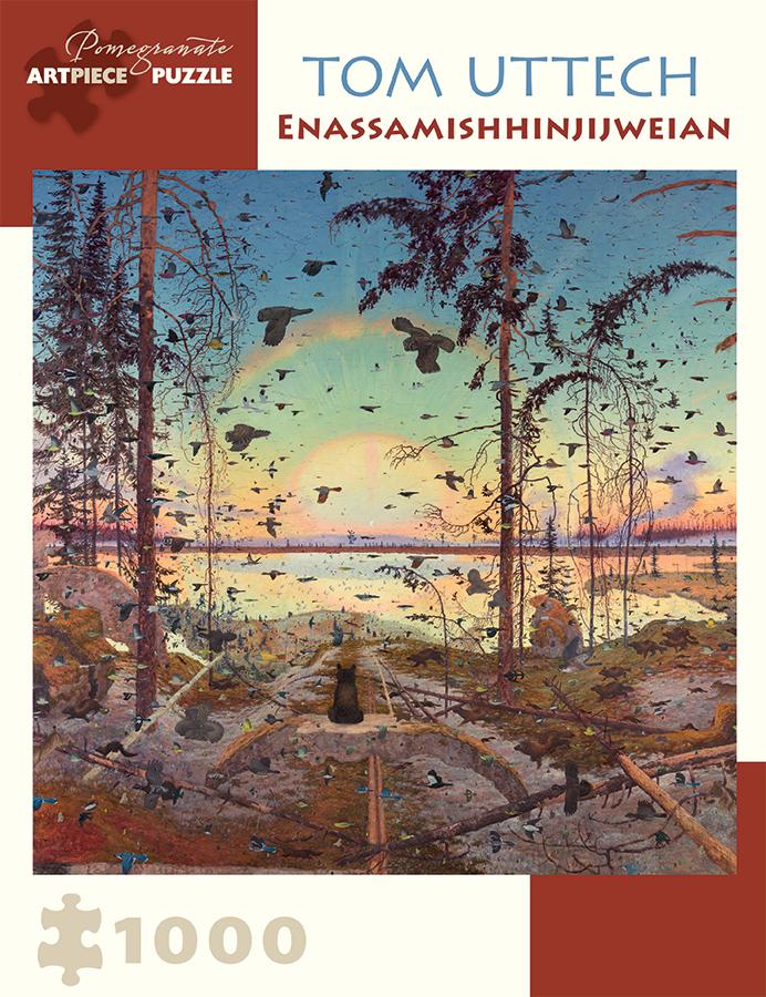 Enassamishhinjijweian Birds Jigsaw Puzzle