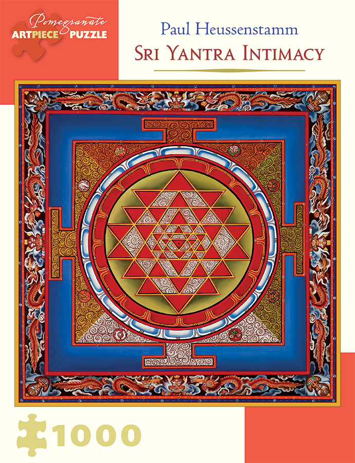 Sri Yantra Intimacy Graphics / Illustration Jigsaw Puzzle