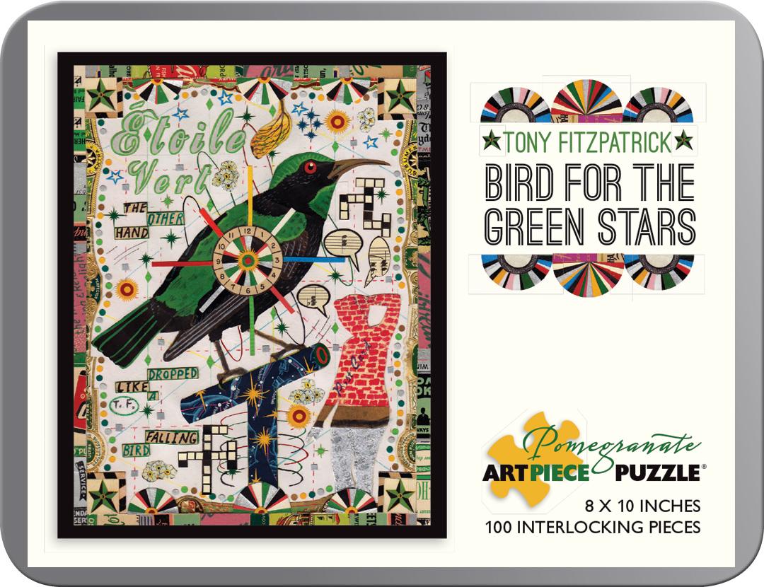 Bird for the Green Stars Birds Jigsaw Puzzle