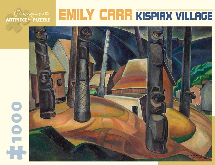 Kispiax Village Landscape Jigsaw Puzzle