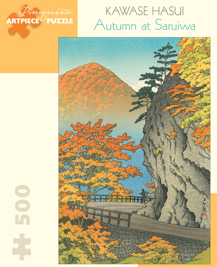 Autumn at Saruiwa Fall Jigsaw Puzzle