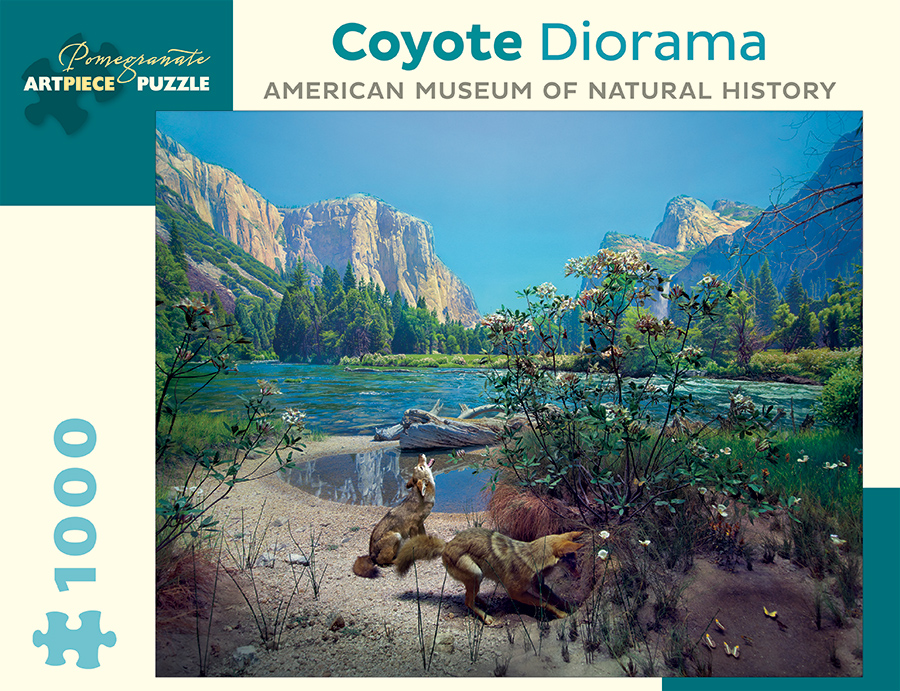 Coyote Diorama Jigsaw Puzzle