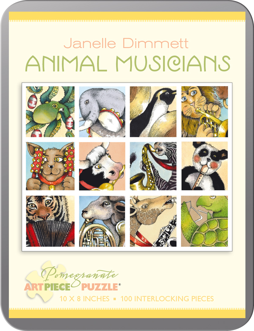 Animal Musicians Animals Jigsaw Puzzle