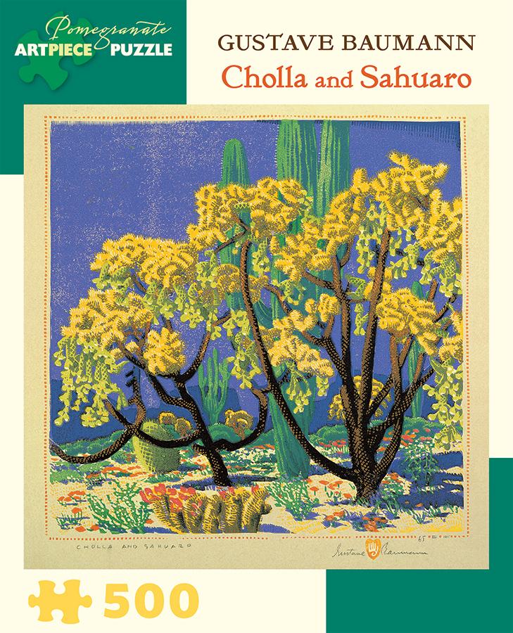 Cholla and Sahuaro Spring Jigsaw Puzzle