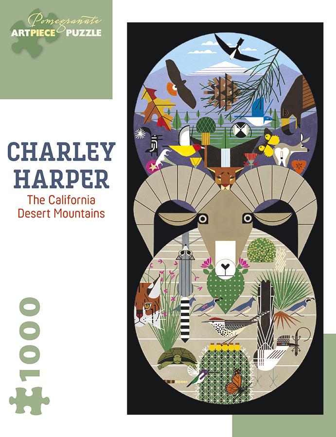 The California Desert Mountains Wildlife Jigsaw Puzzle