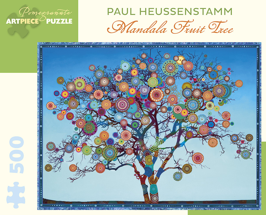Mandala Fruit Tree Graphics / Illustration Jigsaw Puzzle