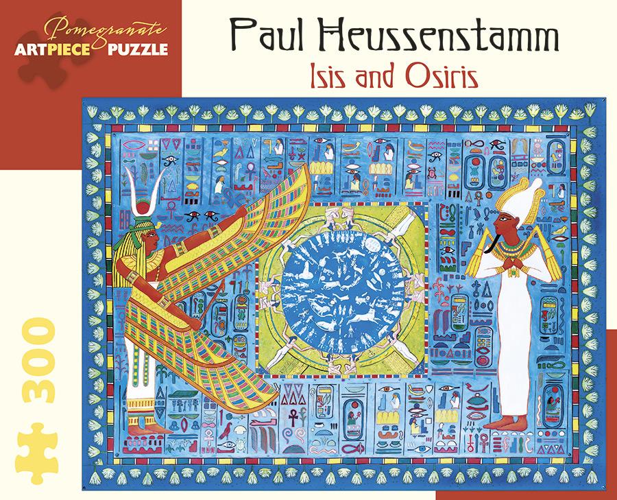 Isis & Osiris Jigsaw Puzzle