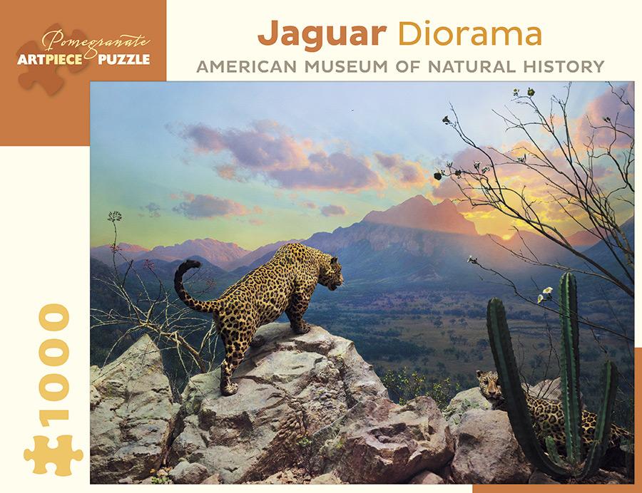 Jaguar Diorama Cats Jigsaw Puzzle