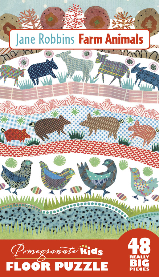 Farm Animals Farm Animals Jigsaw Puzzle