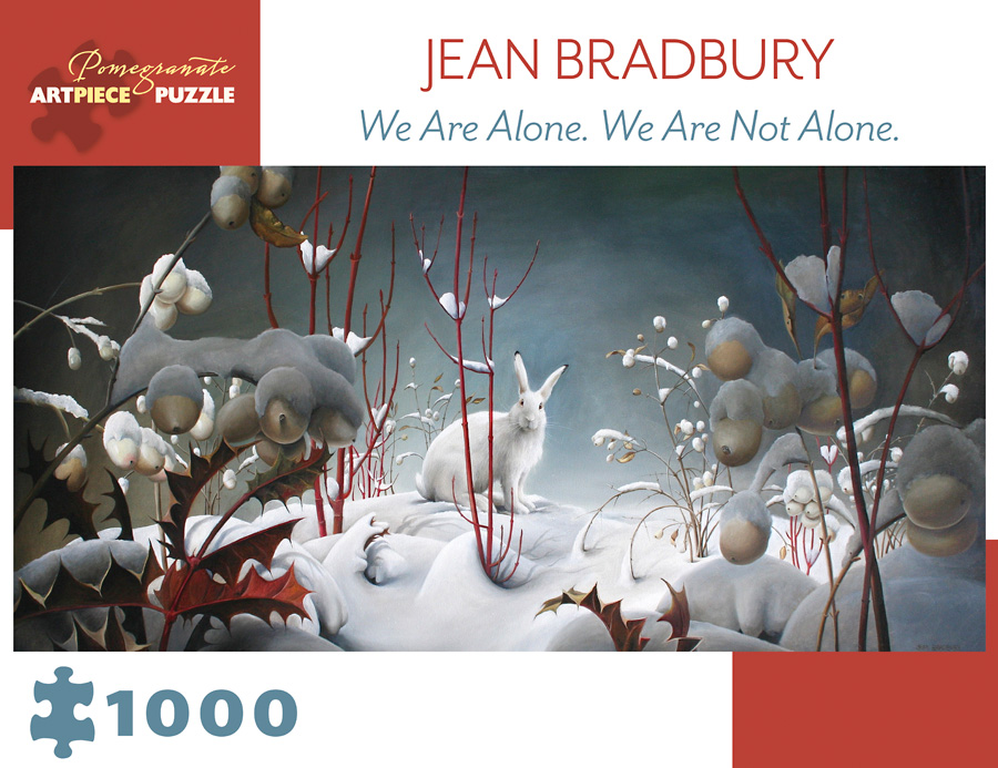 We are Alone.  We Are Not Alone. Winter Jigsaw Puzzle