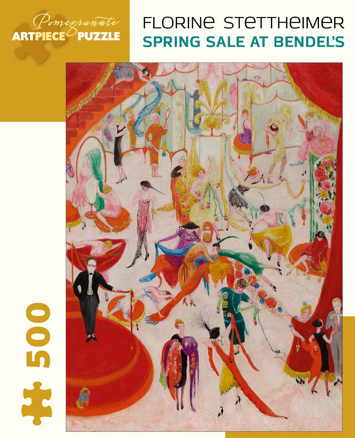 Spring Sale at Bendel's People Jigsaw Puzzle