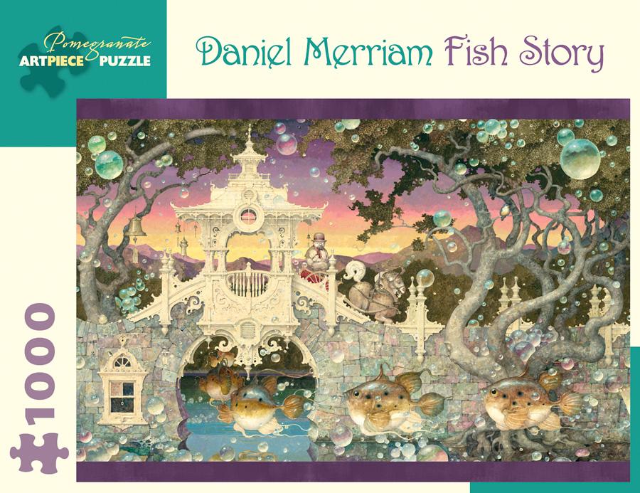 Fish Story Fantasy Jigsaw Puzzle