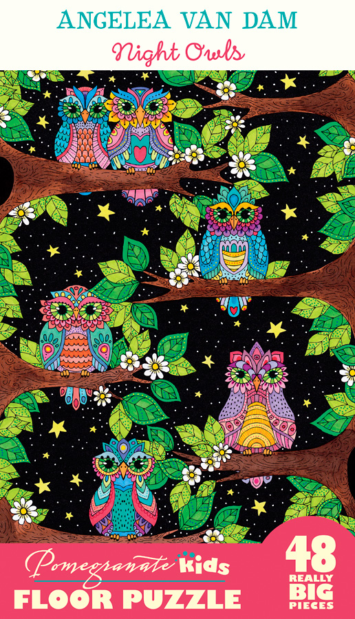 Night Owls Birds Jigsaw Puzzle