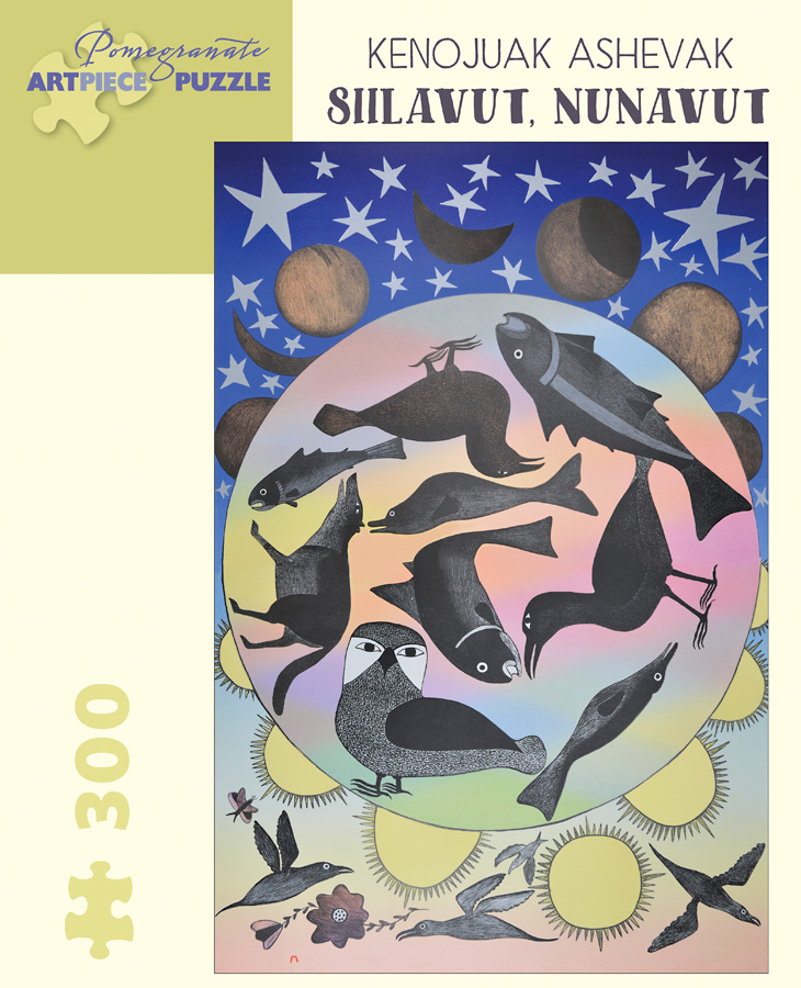 Siilavut Nunavut Graphics / Illustration Jigsaw Puzzle