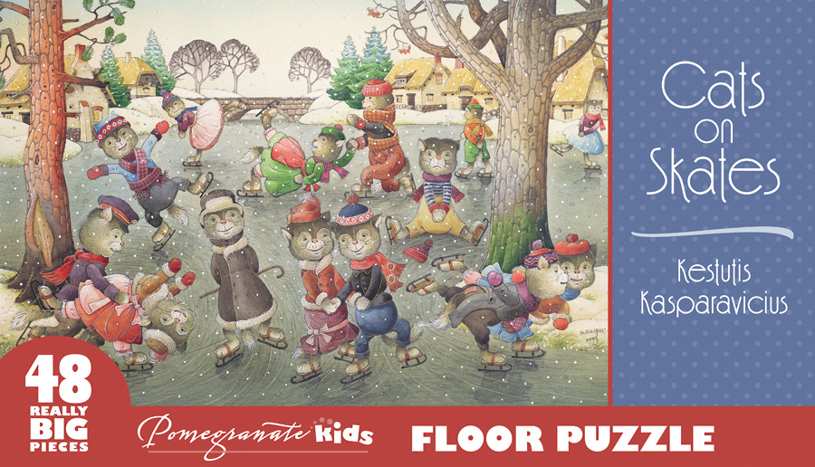 Cats On Skates Cats Jigsaw Puzzle