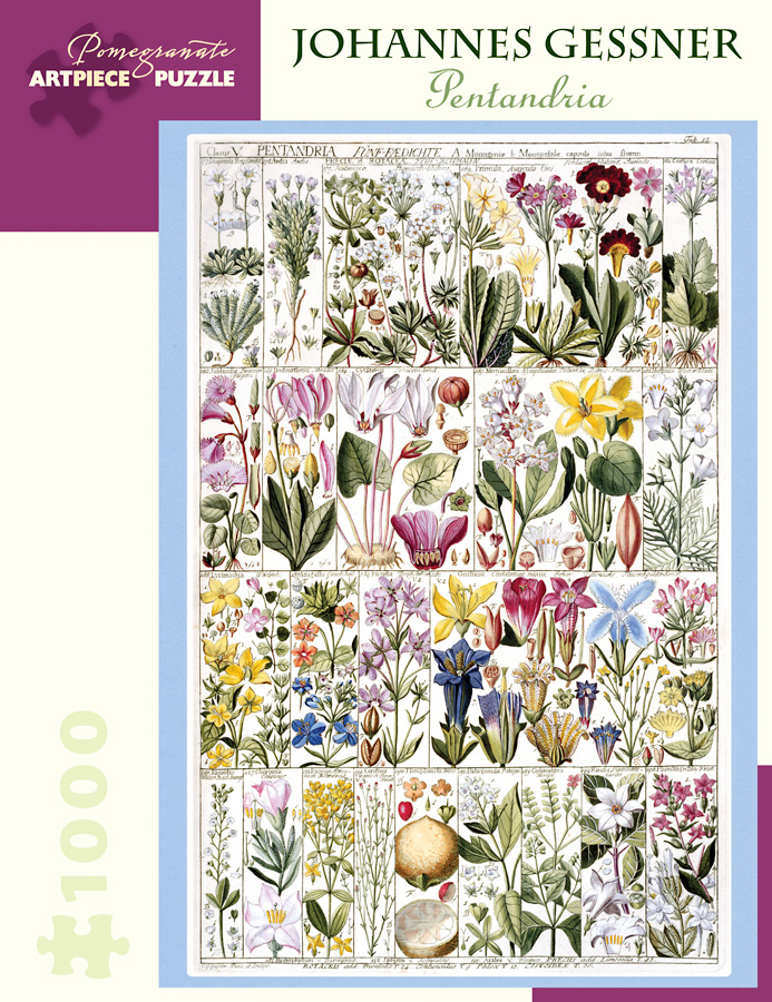 Pentandria Flowers Jigsaw Puzzle