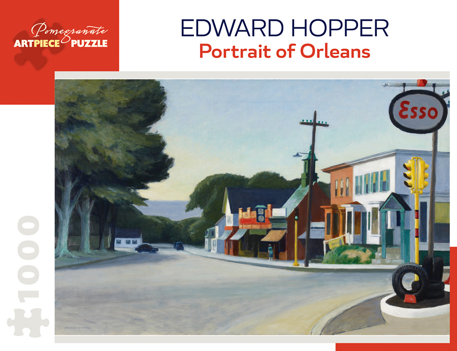 Portrait Of Orleans Fine Art Jigsaw Puzzle