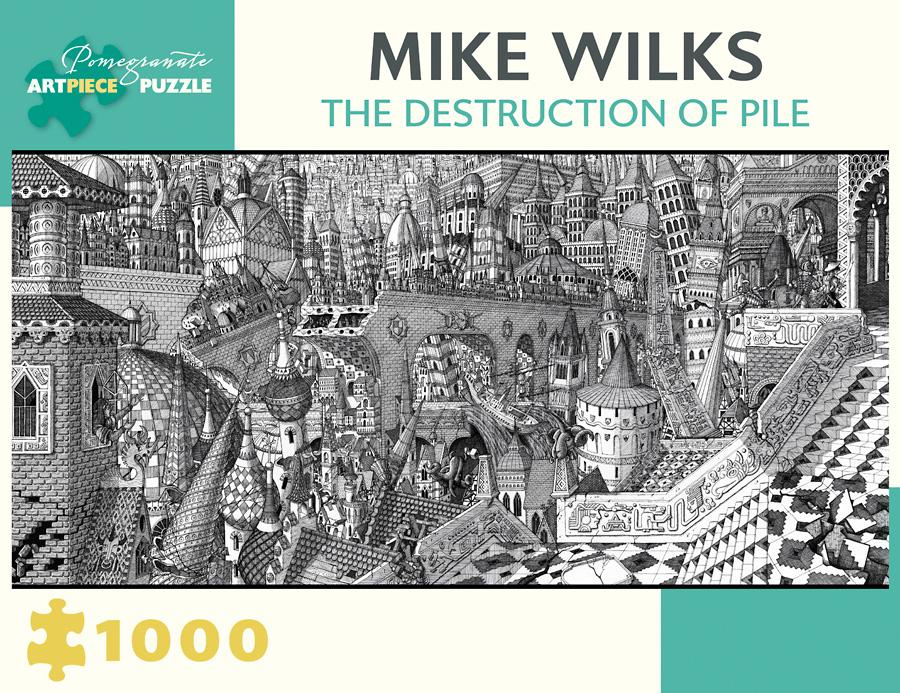 Destruction Of Pile Graphics / Illustration Jigsaw Puzzle