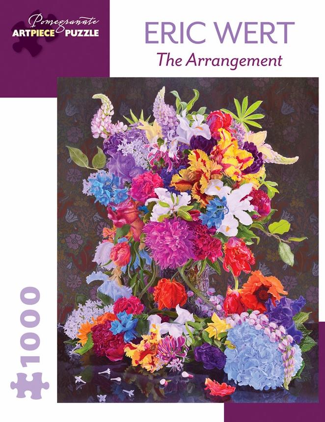 The Arrangement Flowers Jigsaw Puzzle