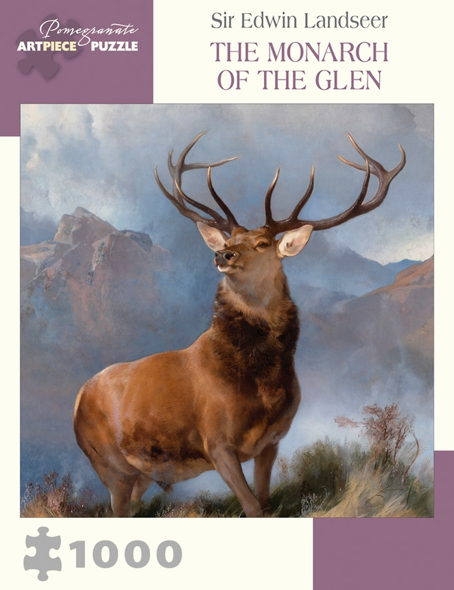 Monarch of the Glen Wildlife Jigsaw Puzzle