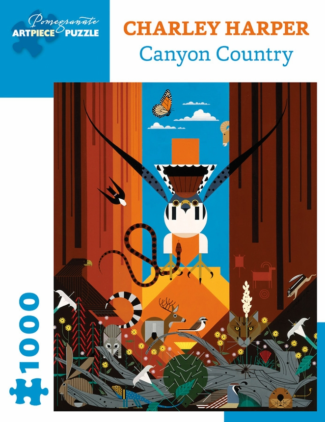 Canyon Country Animals Jigsaw Puzzle