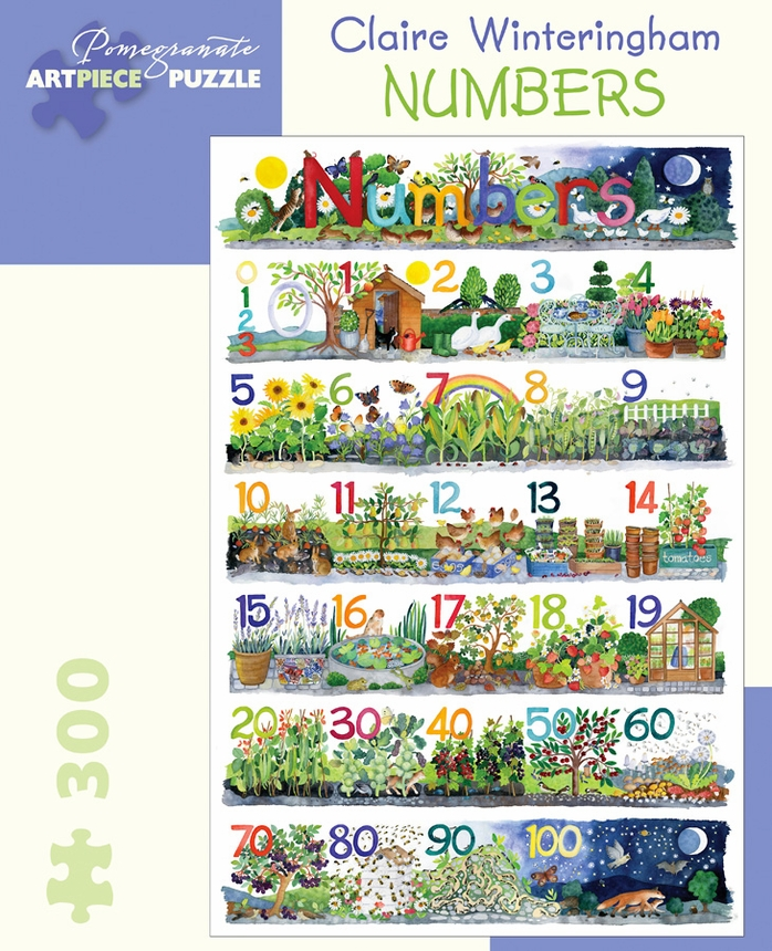 Numbers Garden Jigsaw Puzzle