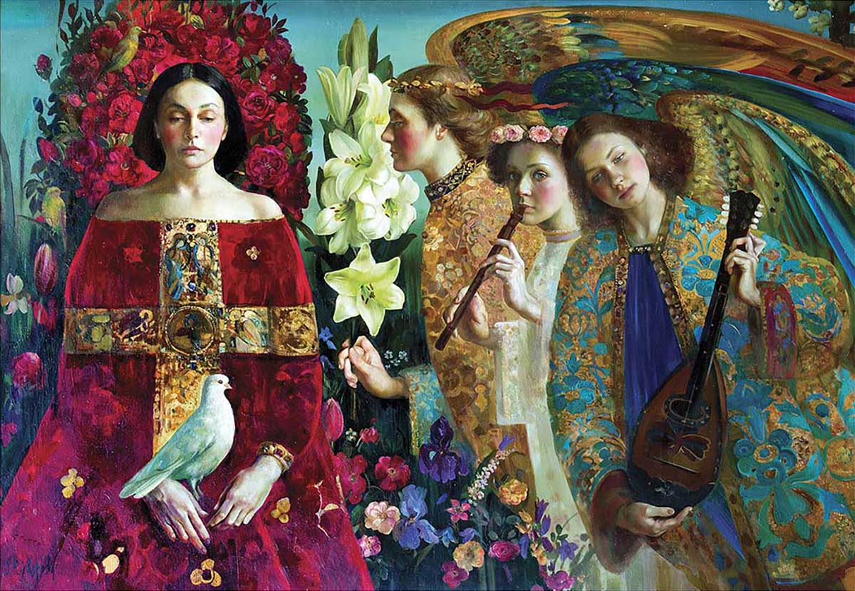 Annunciation Contemporary & Modern Art Jigsaw Puzzle