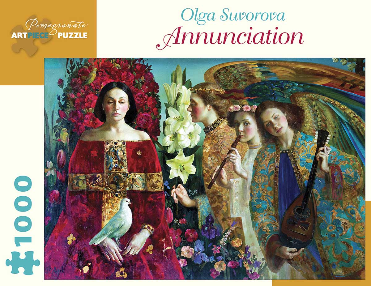 Annunciation Contemporary & Modern Art Jigsaw Puzzle