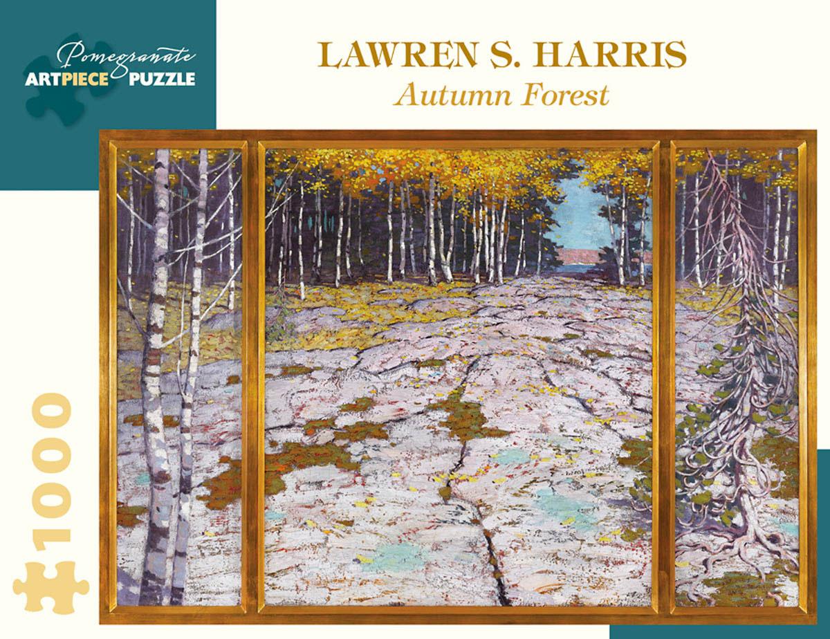Autumn Forest Contemporary & Modern Art Jigsaw Puzzle