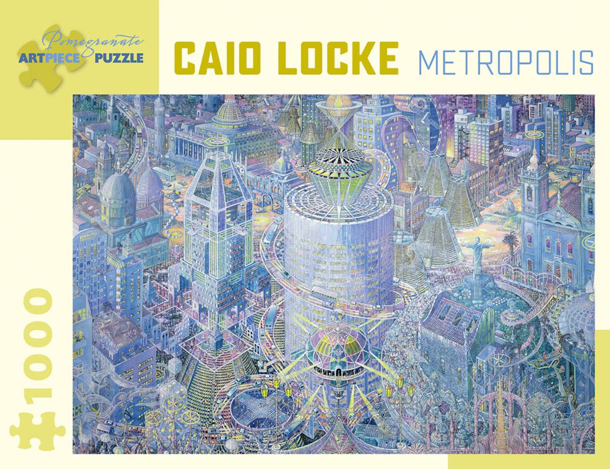 Metropolis Contemporary & Modern Art Jigsaw Puzzle