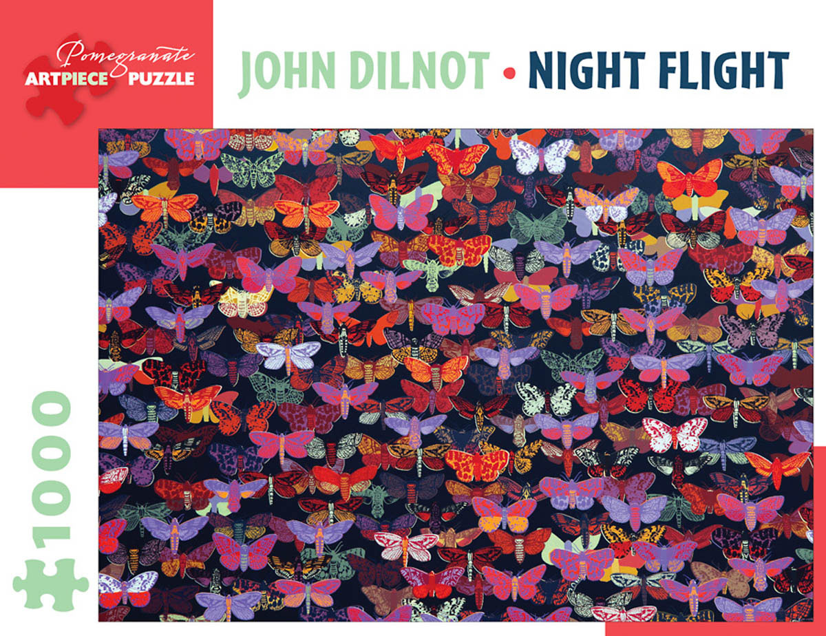 Night Flight Contemporary & Modern Art Jigsaw Puzzle