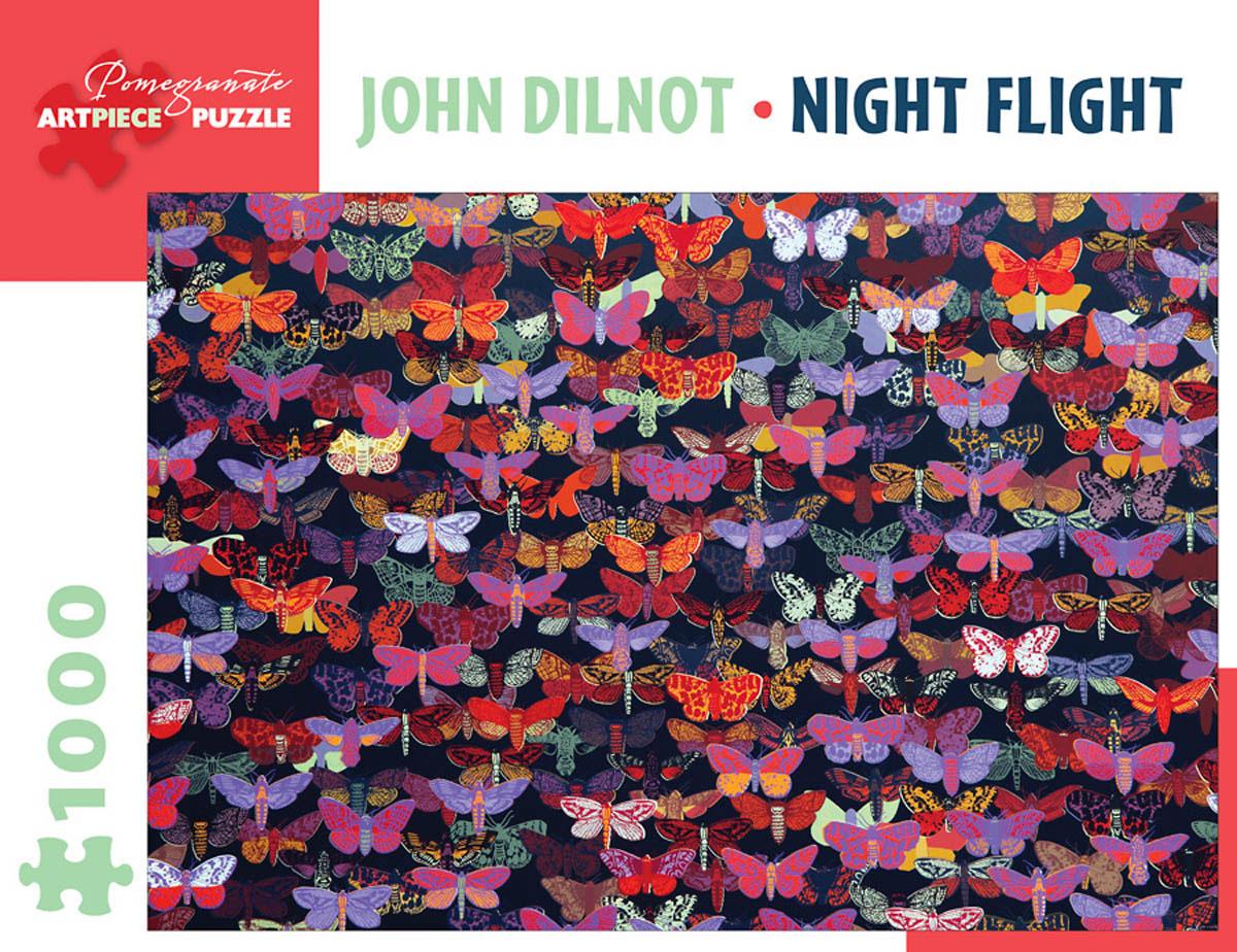 Night Flight Contemporary & Modern Art Jigsaw Puzzle