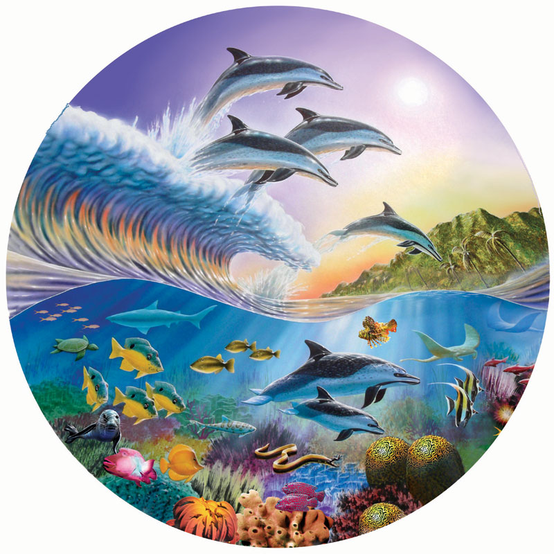 Dolphin Spotting Under The Sea Jigsaw Puzzle