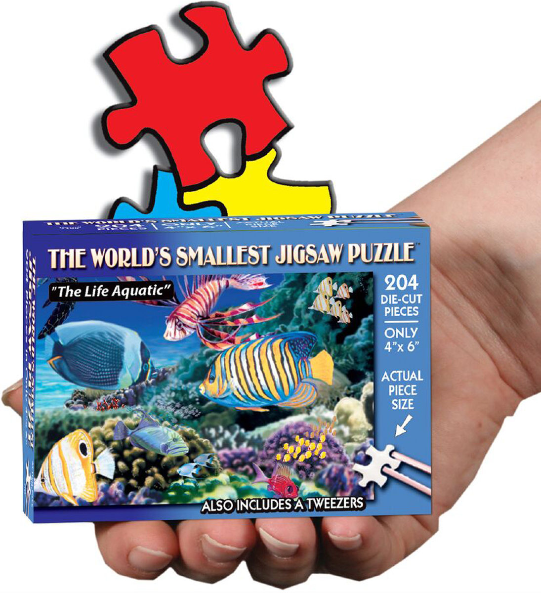 World's Smallest Jigsaw Puzzle - The Life Aquatic Under The Sea Jigsaw Puzzle