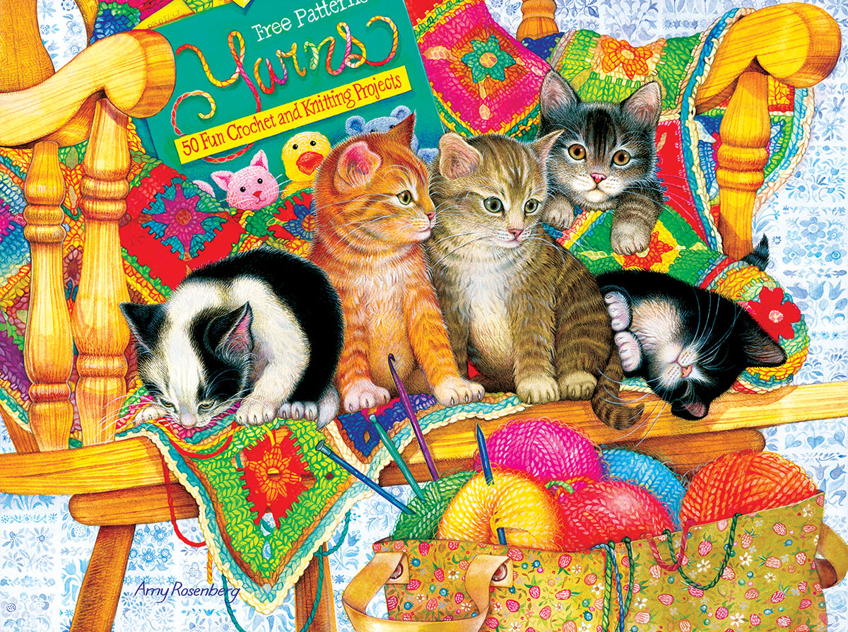 Knit Wits Crafts & Textile Arts Jigsaw Puzzle