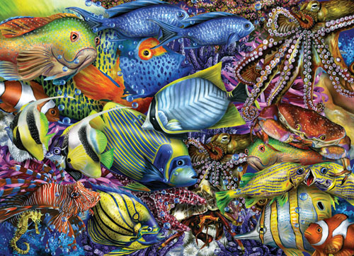 Savvy Swimmers Under The Sea Jigsaw Puzzle