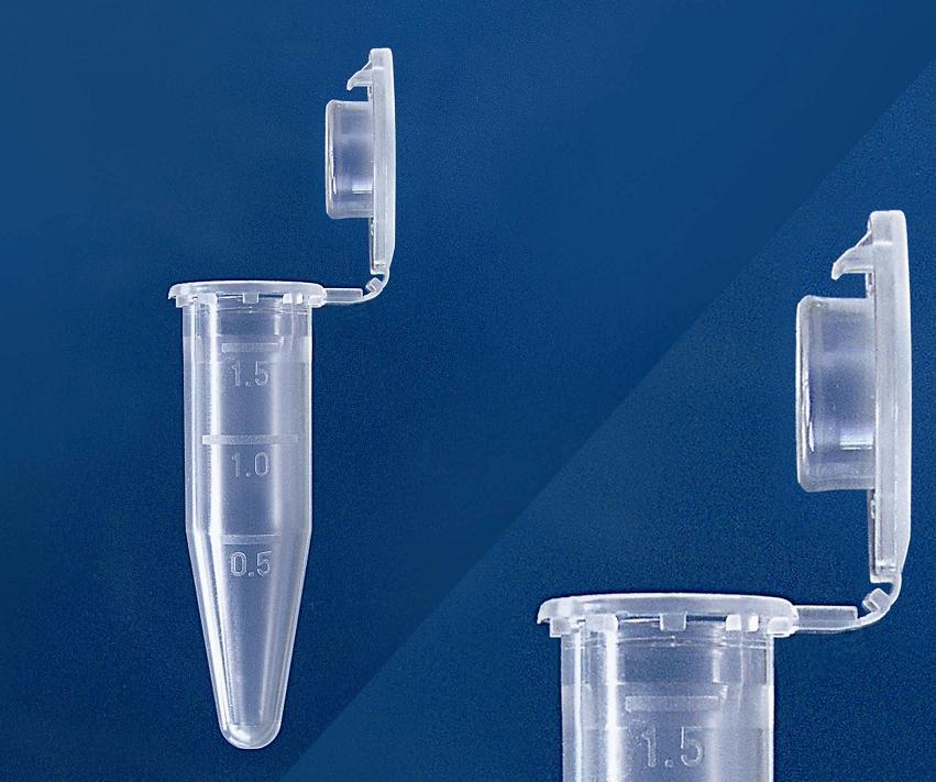1.5ml Micro Tube Flat SafeSeal Cap