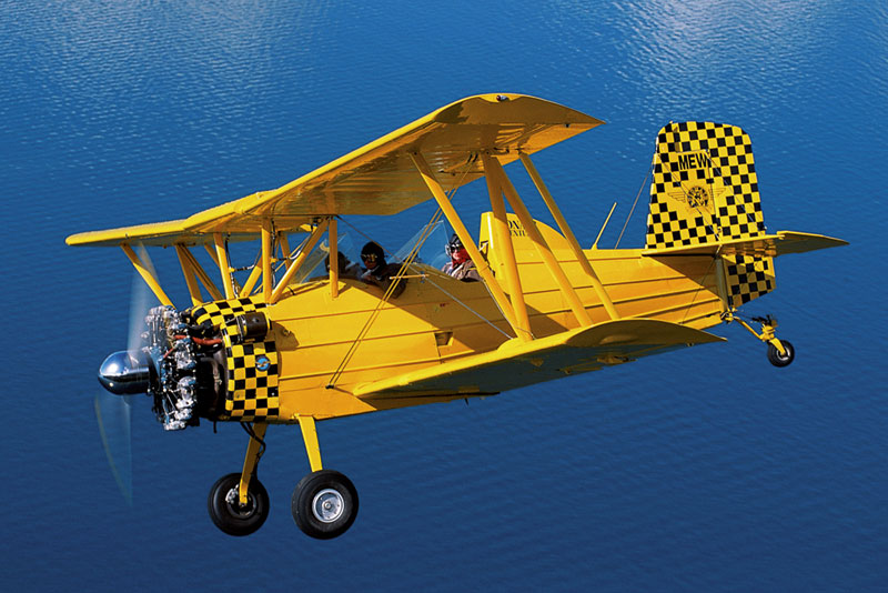 Mini Puzzles Special Vehicles - Biplane Planes Jigsaw Puzzle