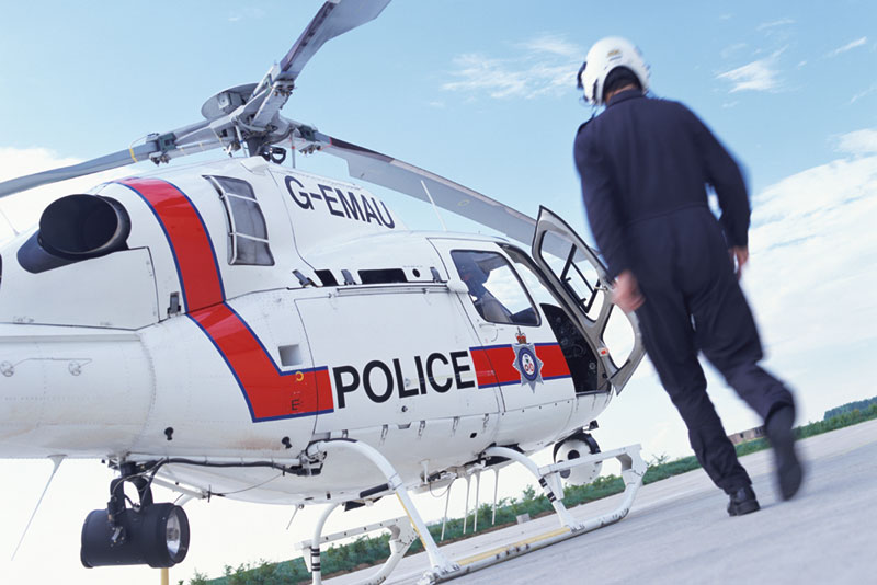 Mini Puzzles Special Vehicles - Police Chopper Planes Jigsaw Puzzle